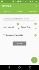 TorrDroid - Torrent Downloader For Android