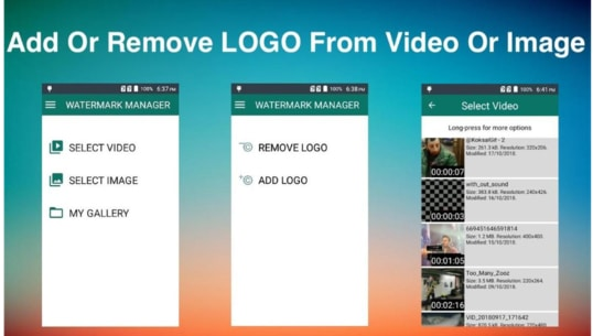 Remove & Add Watermark APK For Android