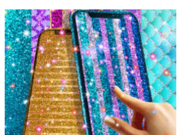 Glitter live wallpaper APK For Android - APK Download For Free